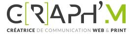GRAPH'M  graphiste // Webdesigner savoie et haute savoie | Création de supports de communication visuelle // Savoie et Haute Savoie // Auvergne Rhône Alpes